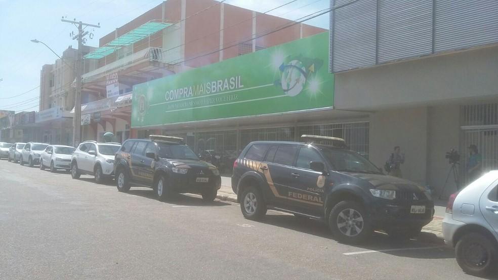 Sede da Aliança Online foi alvo de operação em Palmas (Foto: Ana Paula Rehbein/Divulgação)