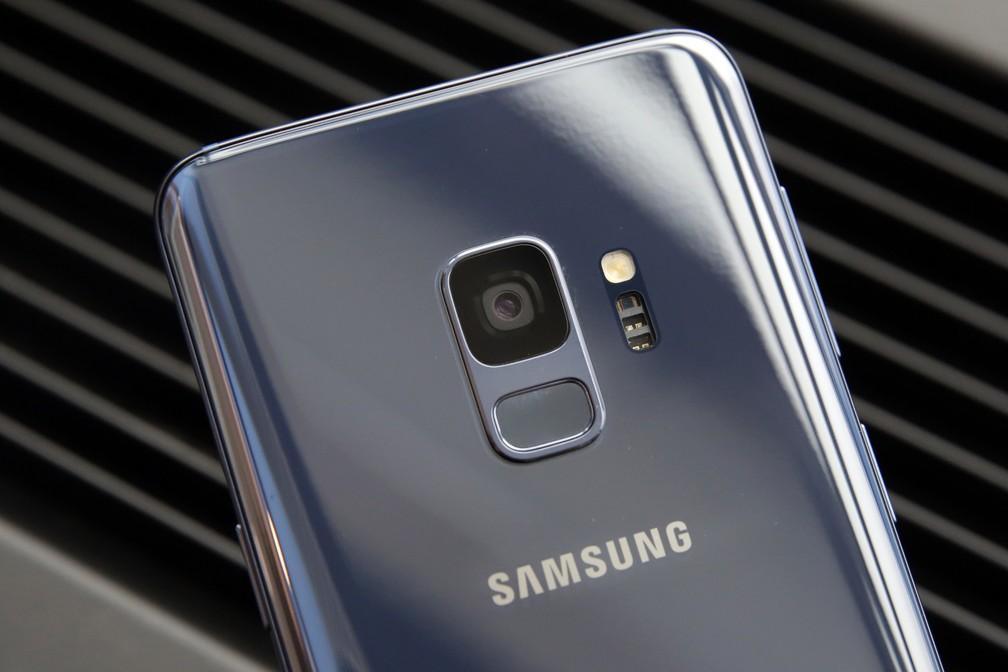 Samsum Galaxy S9 foi apresentado neste domingo (25) (Foto: Richard Drew/AP)
