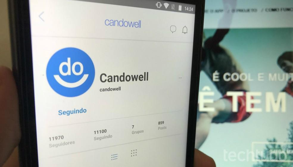 Candowell reverte 30% da receita para ONGs e causas sociais — Foto: Rodrigo Fernandes/TechTudo