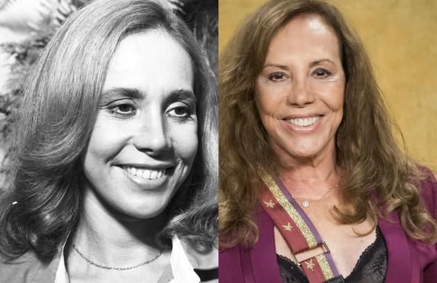 No ar em 'Segundo Sol' como Naná, Arlete Salles foi Dolores, mãe de Cristina (Monique Curi) (Foto: TV Globo)