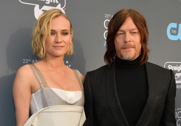 Diane Kruger e Norman Reedus (Foto: Getty Images)