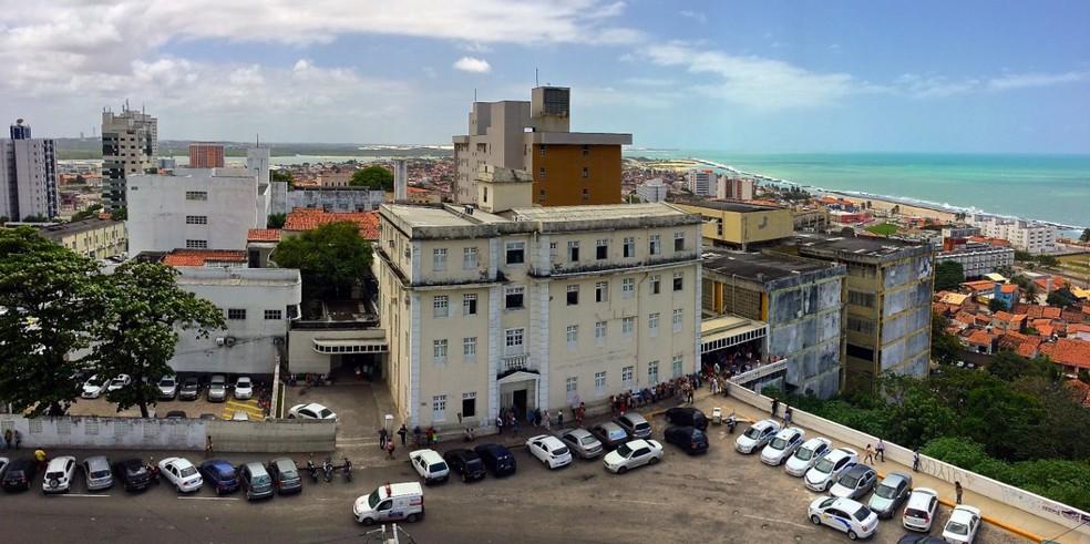Hospital Universitário Onofre Lopes (HUOL), em Natal — Foto: Cícero Oliveira