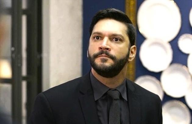 Na quinta-feira (9), Diogo contratará Pessanha (Valter Breda) para assassinar Paloma (Foto: TV Globo)