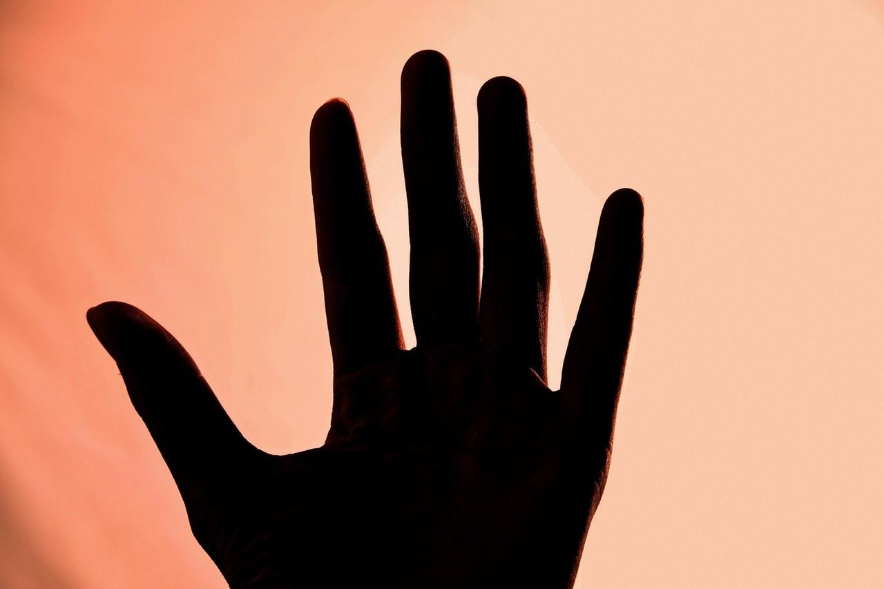mão (Foto: Pexels)