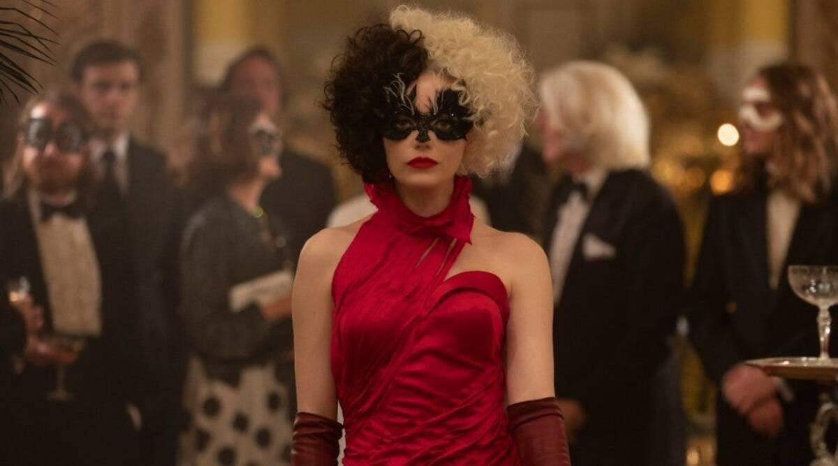 Emma Stone em Cruella (2021) (Foto: reprodução)