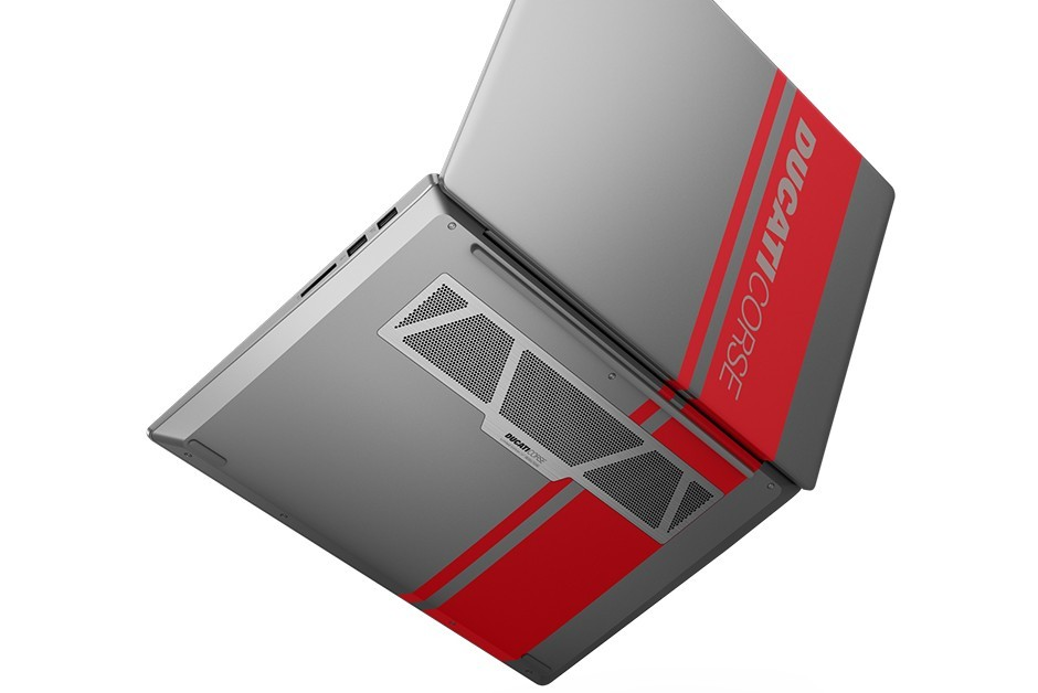 Saída de ar do notebook conta com design especial (Foto: Divulgação)