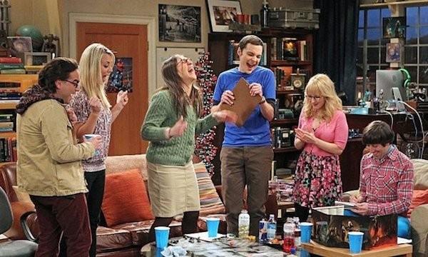 O elenco principal de The Big Bang Theory (Foto: Reprodução)