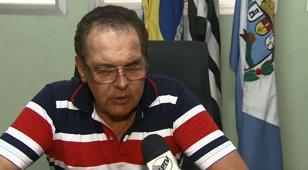 O vice-prefeito de Analândia, José Ângelo Mattos. (Foto: Felipe Lazzarotto/EPTV)