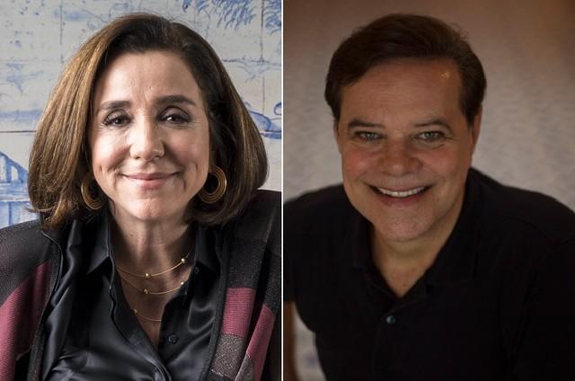 Marisa Orth e Diogo Vilela estrearão no 'Zorra' (Foto: Divulgção/Globo e Alexandre Cassiano)