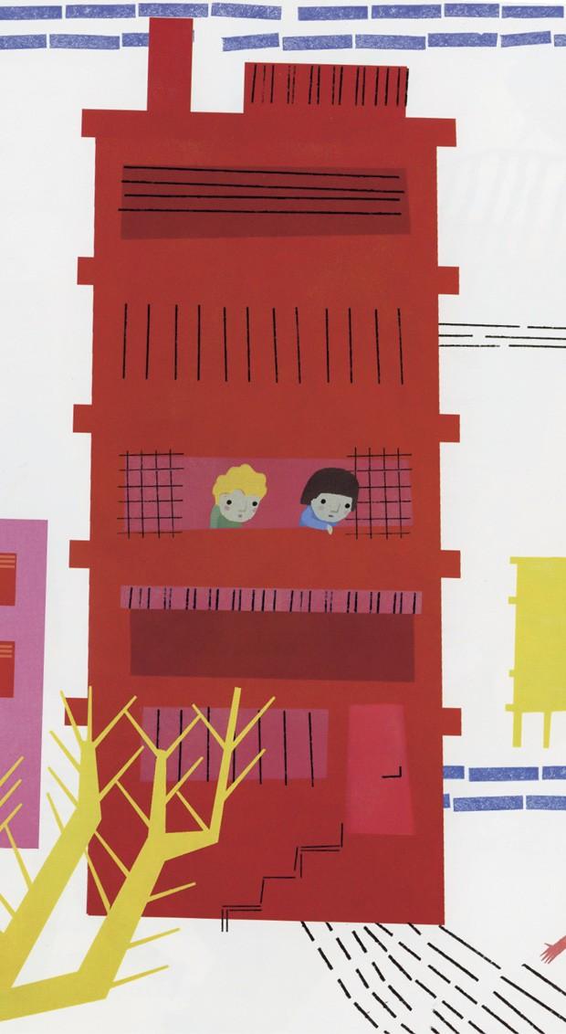 Texto de Isabel Minhós Martins e ilustrações de Madalena Matoso, Editora 34, R$ 37. A partir de 4 anos. (Foto: Reprodução)