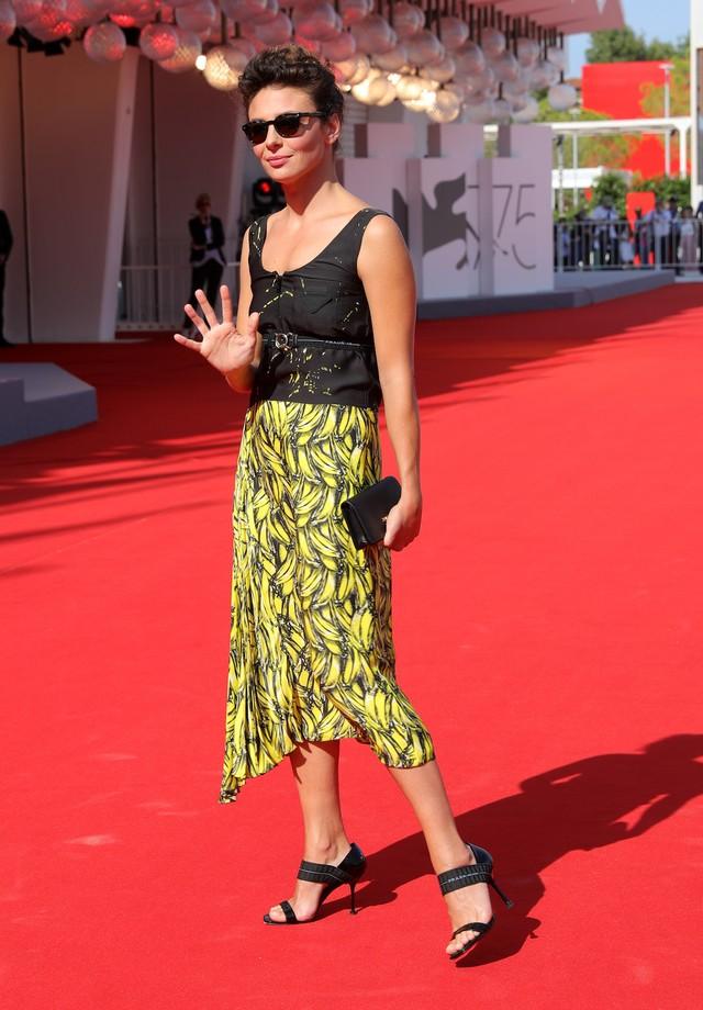 Jasmine Trinca no Festival de Cinema de Veneza (Foto: Getty Images)