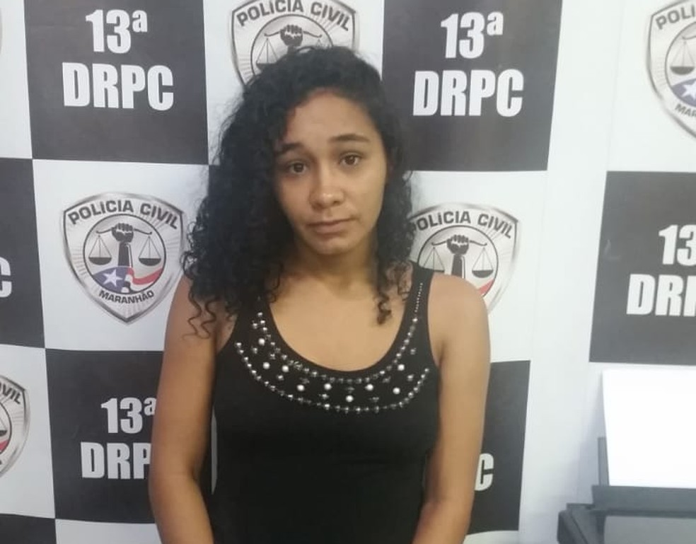Nathalia Carneiro de Oliveira foi presa por suspeita de homicídio da filha. (Foto: Divulgação/Polícia Civil )