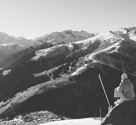 Birgit Kos, fã de snowboarding (Foto: Reprodução/Instagram)