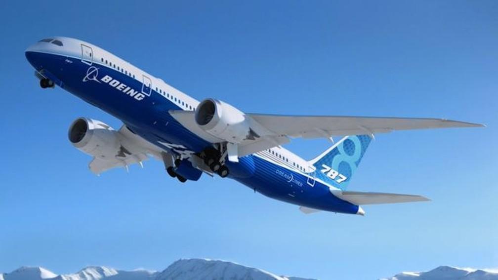 Boeing 787 — Foto: Boeing/Divulgação  - via BBC