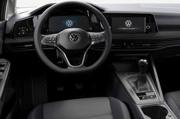 Novo Volkswagen Golf básico (Foto: Divulgação)