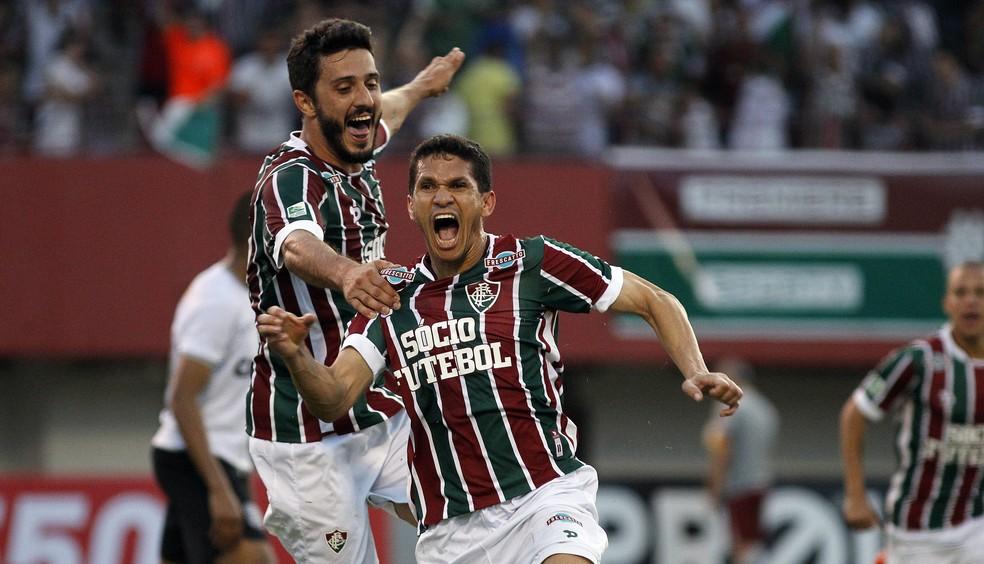 Magno Alves pelo Fluminense em 2016 — Foto: NELSON PEREZ/FLUMINENSE F.C.