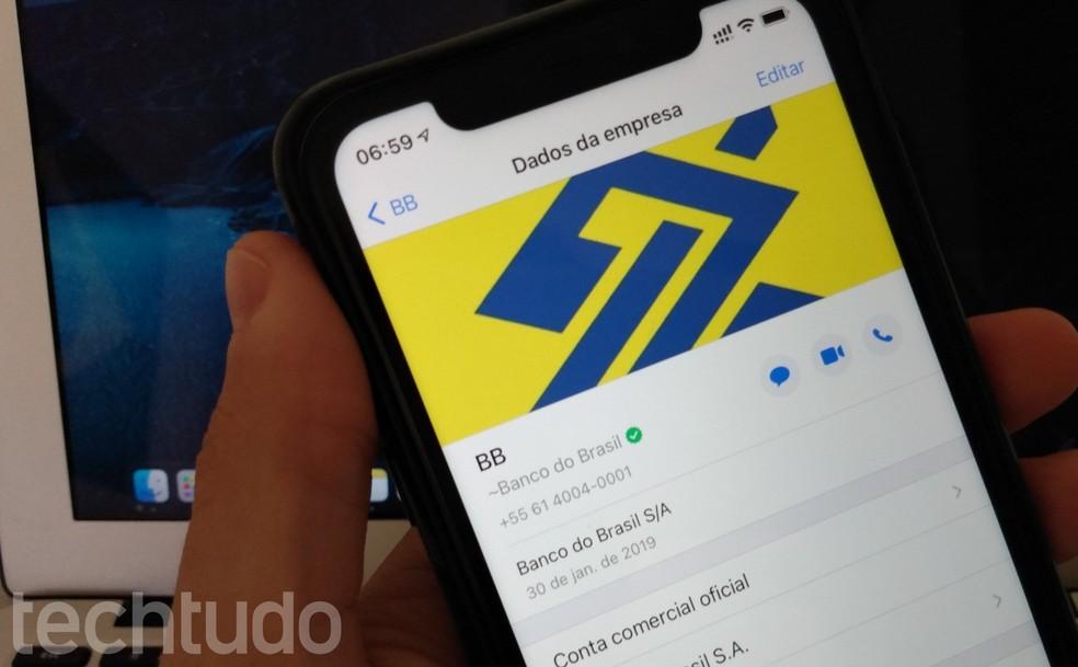 Saiba como usar o Pix do Banco do Brasil no WhatsApp — Foto: Helito Beggiora/TechTudo