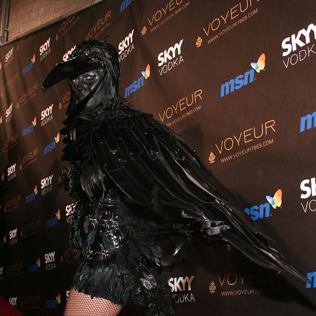 Heidi Klum de corvo (Foto: Getty Images)