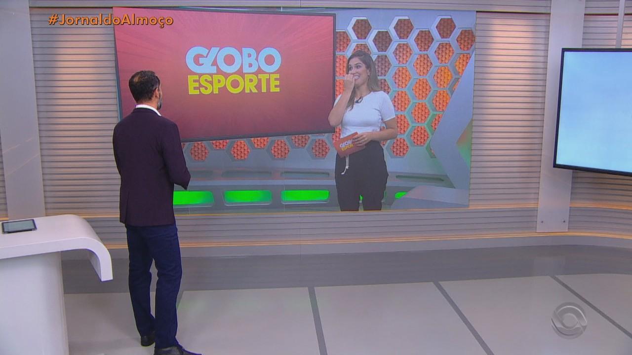 Confira os destaques do Globo Esporte RS neste sábado (16)