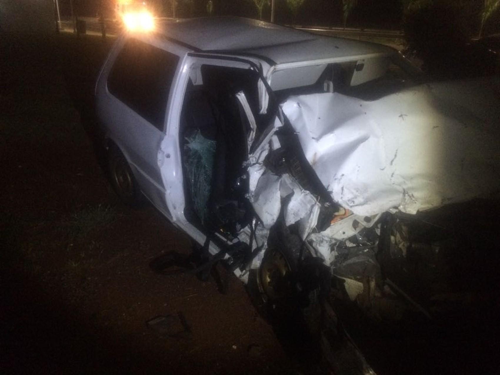 Bebê de um ano escapa ileso de acidente em rodovia no interior de SP