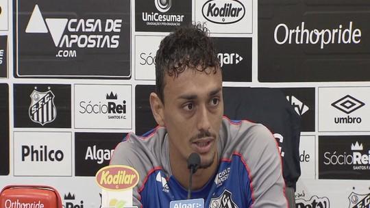 Em grande fase no Santos, Diego Pituca fala antes de jogo contra a Chapecoense