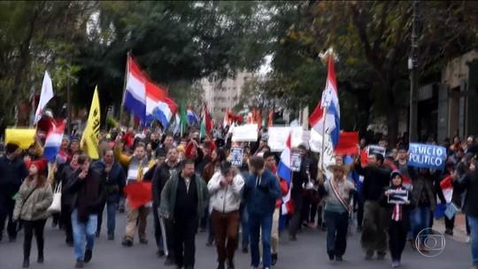 Oposição do Paraguai busca impeachment de presidente por causa de renegociação sobre energia de Itaipu