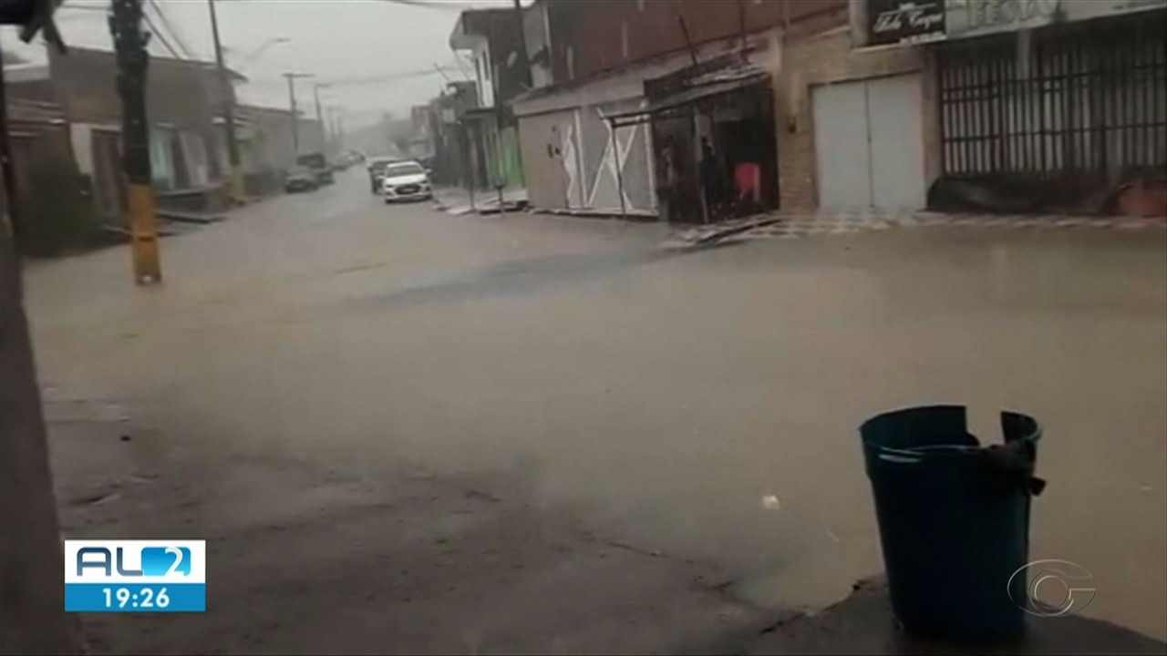 Chuva atinge cidades do litoral norte do estado