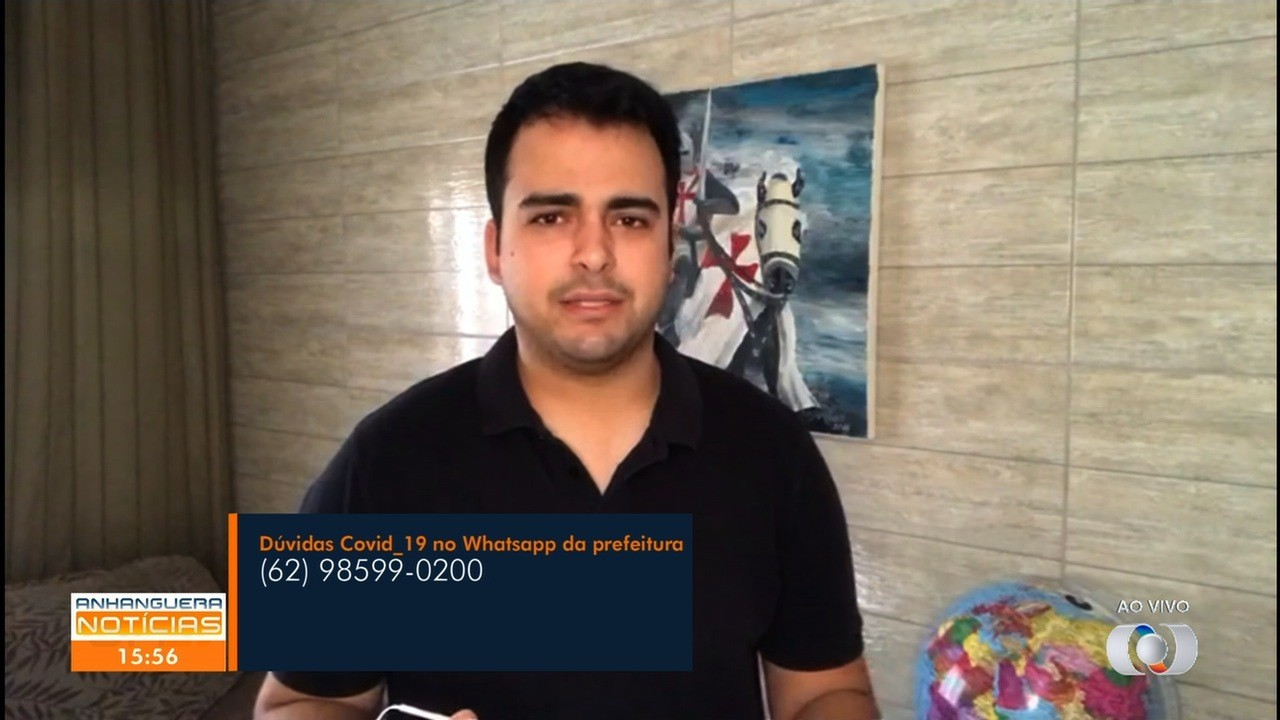 VÍDEOS: Anhanguera Notícias de quinta-feira, 2 de abril de 2020