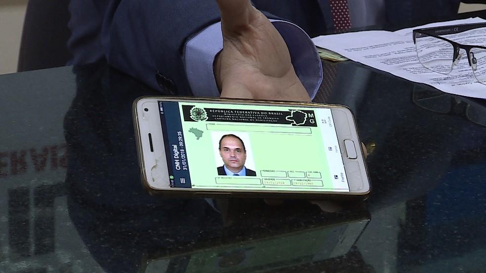 Habilitação terá opção digital (Foto: Reprodução/TV Globo)