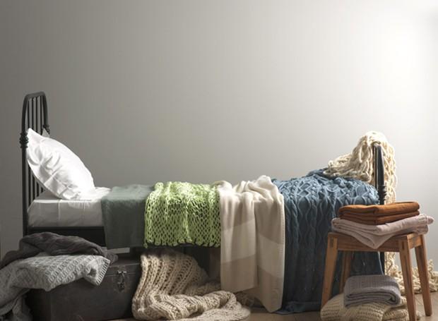 Jeitos de usar mantas na decoração  (Foto: Iara Venanzi/Editora Globo)
