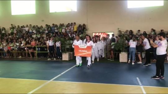 Cerimônia de abertura oficializa início do JIFRO