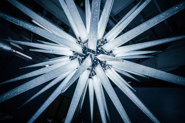 Estrela de Natal com Swarosvski (Foto: Divulgação)