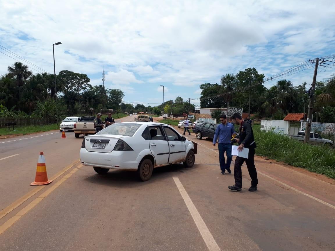 Colisão frontal entre carros deixa dois feridos em Rio Branco - Notícias - Plantão Diário