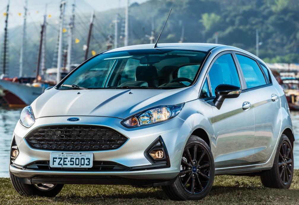 Ford Fiesta — Foto: Divulgação/Ford