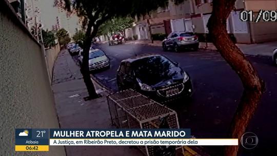 Mulher atropela e mata marido em Ribeirão Preto
