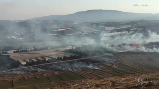 Hezbollah lança mísseis contra Israel