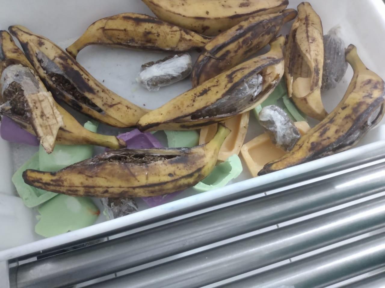 Três mulheres são presas tentando entrar em presídio com droga dentro de cascas de banana e sabonetes em AL