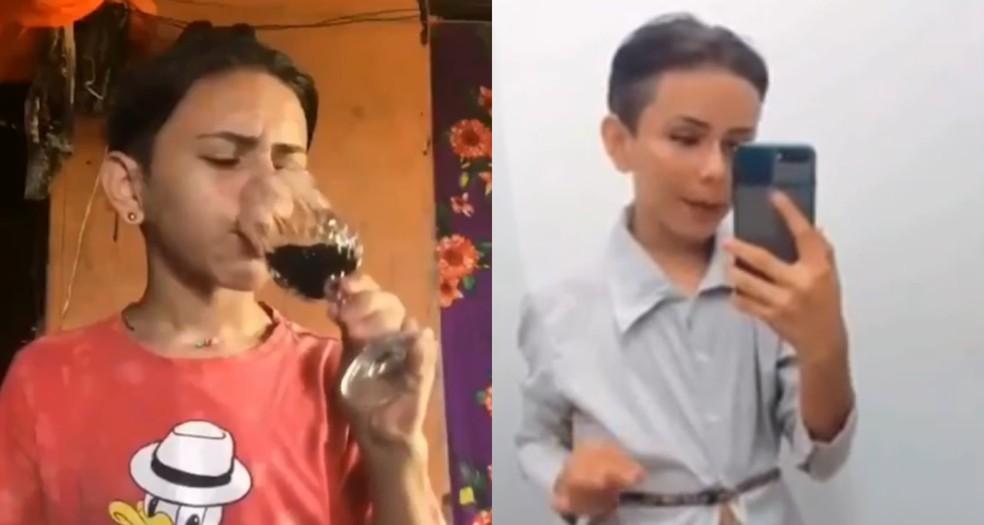 Alex Brito, conhecido por 'Bota Pó', faz sucesso nas redes sociais com bordões como o 'café na taça' e com desfiles de roupas. — Foto: Reprodução/Redes sociais