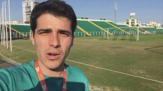 """Ainda sem salário, elenco do Figueira não se reapresenta: """"Paramos hoje, pela sobrevivência do amanhã"""""""