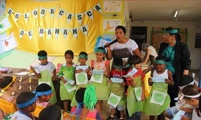 Educação nutricional em sala de aula