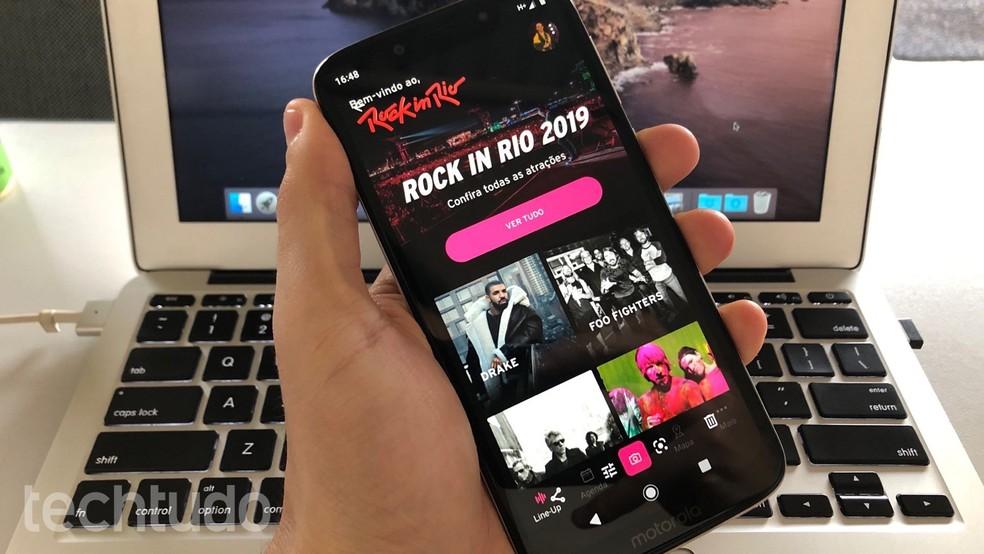 Aplicativo Rock In Rio 2019: como usar o app do festival