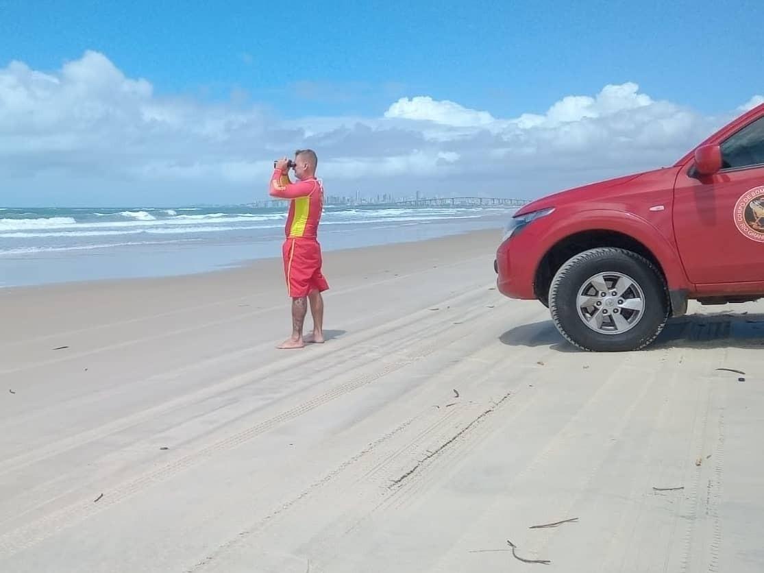 Guarda-vidas registram 127 salvamentos nas praias da Grande Natal no primeiro semestre de 2021