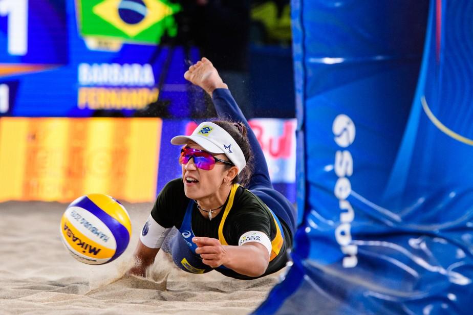 Barbara/Fernanda é eliminada, e Brasil pela primeira vez não terá mulheres no pódio do Mundial