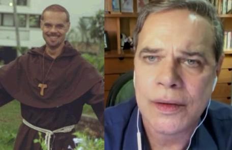 Diogo Vilela viveu o Frei Chicão. O ator esteve na última temporada do 'Zorra' TV Globo