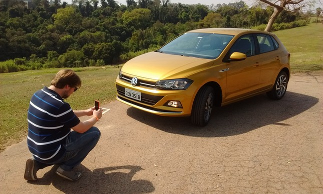 Lipe Paíga fotografa o Novo VW Polo