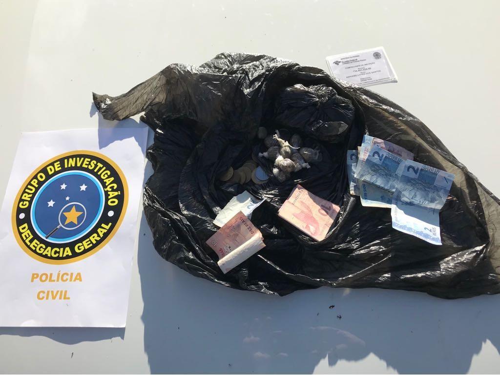 Suspeito de assaltos a fazendas é preso com drogas em Matriz de Camaragibe, AL
