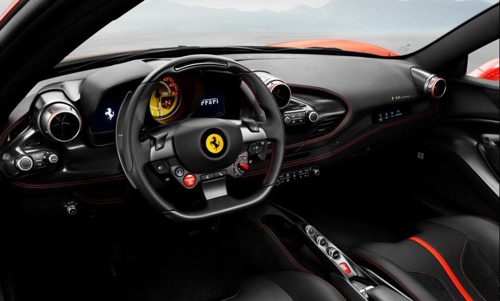 Ferrari F8 Tributo — Foto: Ferrari/Divulgação