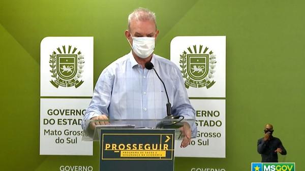 Secretário de Saúde de Mato Grosso do Sul, Geraldo Resende — Foto: Reprodução/Redes Sociais
