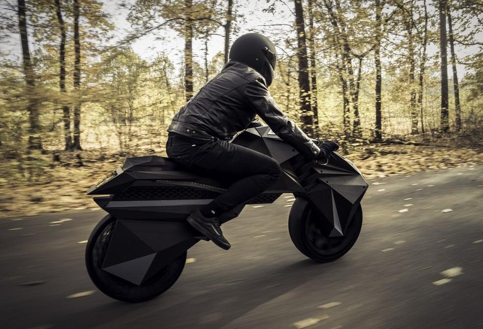 Moto é um estudo de design da BigRep para demonstrar as capacidades da manufatura via impressão — Foto: Divulgação/BigRep