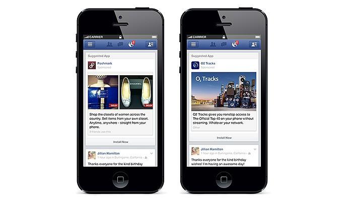 A versão mobile do Facebook ganhou integração com o Parakey, primeiro app comprado pela companhia de Menlo Park (Foto: Reprodução/The Next Web)